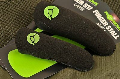 Korda Neoprene Finger Stall * NEW XL, Large & Small Available* NEW Carp Fishing • 4.99£