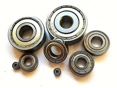 Mr Series High Performance Stainless Steel Miniature Bearings Double Shielded Rc • 20.41£