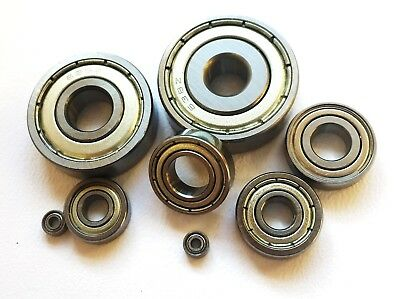 600 - 699 Zz HIGH PERFORMANCE STAINLESS STEEL SHIELDED MINIATURE BEARINGS RC • 20.41£
