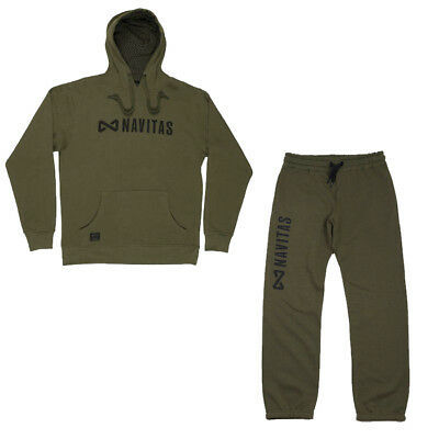 Navitas Green Core Hoody & Jogger Jogga Jogging Bottom Combo *All Variations* • 40.27£