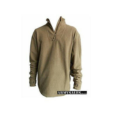 British Army Combat Undershirt Thermal, PCS Fleece Base Layer Jumper USED Grade1 • 14.99£