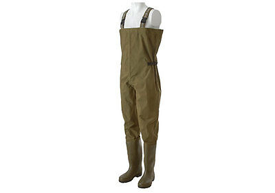 Trakker N2 Chest Waders Waterproof Nylon PVC Fishing Wader NEW *All Sizes* • 64.99£