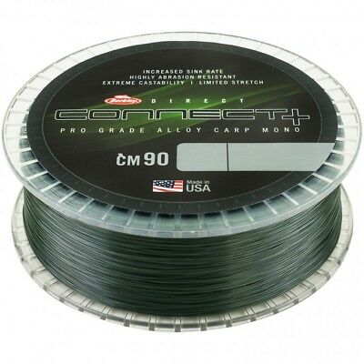 Berkley Connect + CM90 Weed Green Mono Line Mainline 1200m NEW *All Types* • 19.95£