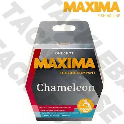 Maxima Chameleon One Shot Fishing Line 200m/250m Spool 2lb - 20lb - Filler Spool • 7.29£