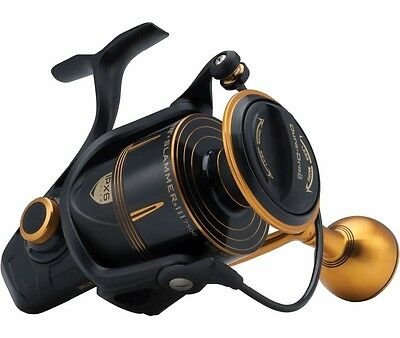 Penn Slammer III Fixed Fishing Reel * All Sizes * • 195.99£