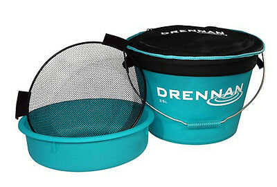 Drennan NEW Coarse Fishing Aqua 25 Ltr Bait Bucket Set • 35.99£