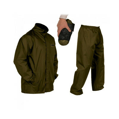 Vass Lightweight Khaki Waterproof Packaway Jacket And Trouser Set *All Sizes* • 34.19£