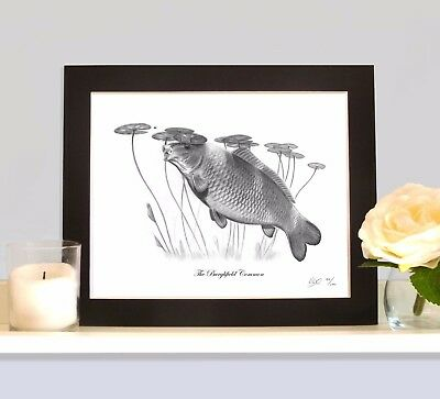 THE BURGHFIELD COMMON As Seen On The Cover Of The Carp Legends Calendar MOUNTED  • 9.99£