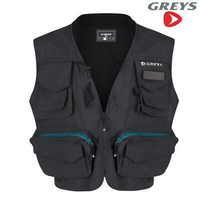 Greys Fly Vest Waist Coat Game Fishing Choose Size  M L Xl Xxl • 49.99£