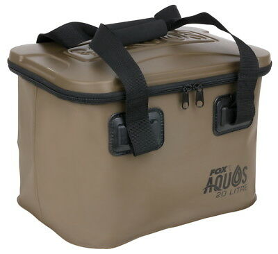 Fox Aquos EVA Bag Waterproof Bag 20L Or 30L Fishing Tackle Bait Bag NEW • 24.99£