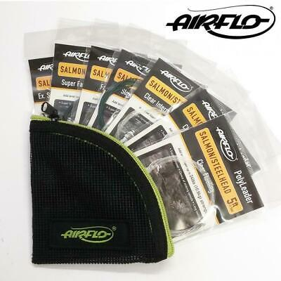 Airflo Salmon 5ft Polyleader Set (7 Polyleaders) With Free Wallet • 27.99£