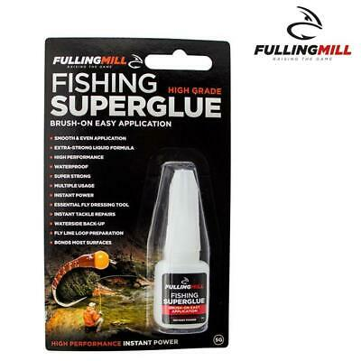 Fulling Mill Fishing Super Glue - Fly Tying - Waterproof- Knots  • 5.99£