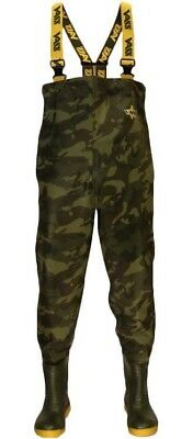 VASS Camo Chest Waders 800E Limited Edition NEW Fishing Waders *ALL SIZES* • 94.99£