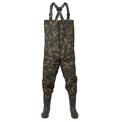 Fox Chunk Camo Lightweight Waders NEW Carp Fishing Waders *All Sizes* • 64.99£