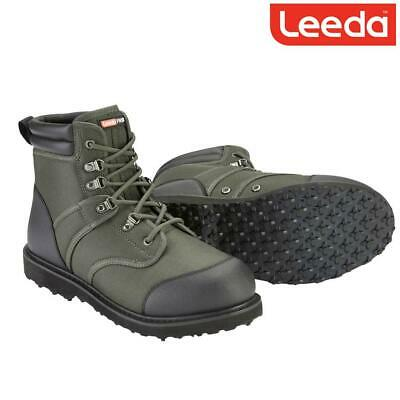 Leeda Profil Wading Boots Rubber Sole Fishing Boots Choose Sz 8, 9, 10, 11, 12 • 46.98£