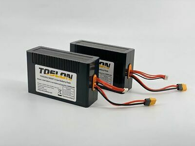Toslon X Boat Spare Lithium Batteries *Pair* 13000MAh NEW Bait Boat Batteries • 219.99£
