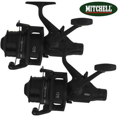 2 X MITCHELL AVOCET R BLACK EDITION FREESPOOL CARP FISHING REEL BAIT SWITCH  • 49.99£