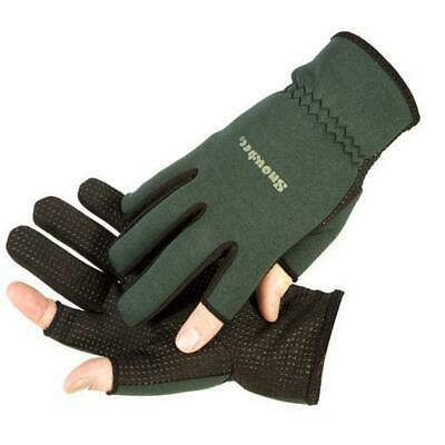 Snowbee Lightweight Neoprene Fishing Hunting Shooting Gloves Choose Size • 11.35£