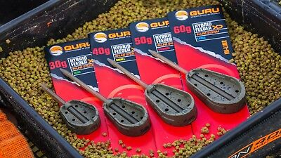 Guru Extra Distance Hybrid Feeder *All Sizes* NEW Coarse Fishing Feeder • 3.75£