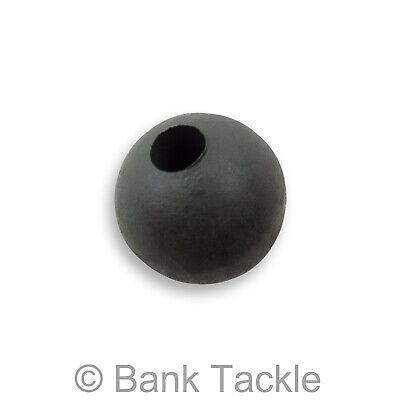 Tungsten Beads 6mm Silty Black Carp Fishing Terminal Tackle Super Heavy (JCTM) • 3.99£