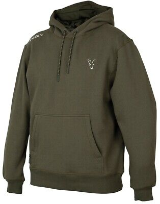 Fox Collection Green Silver Hoody NEW Fishing Hoodie *All Sizes* • 34.99£