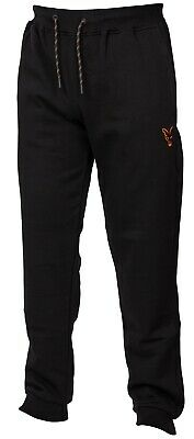 Fox Collection Black And Orange Joggers NEW Fishing Jogging Bottoms *All Sizes* • 29.99£