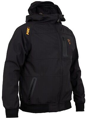Fox Collection Black And Orange Shell Hoody NEW Fishing Hoodie *All Sizes* • 59.99£