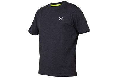 Fox Matrix Minimal Black/Marl T-Shirt *All Sizes* NEW Mens Fishing T Shirt • 14.99£