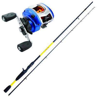 KP3805 Herakles Youth Fishing Casting Kit 1.85 M Youth + Blue MAX Reel • 84.15£