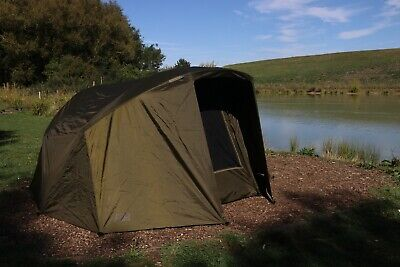 Fox EOS TT Pro Bivvy 1 Man Fishing Shelter + Overwrap Skin Combo *Exclusive* • 214.99£