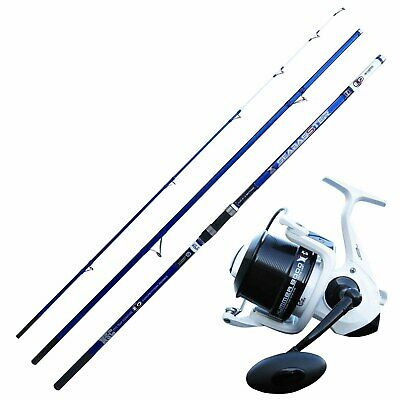 KP4240 Surfcasting Evo Fishing Kit Seabasster Rod 420 Hummer 8000 Reel • 106.25£