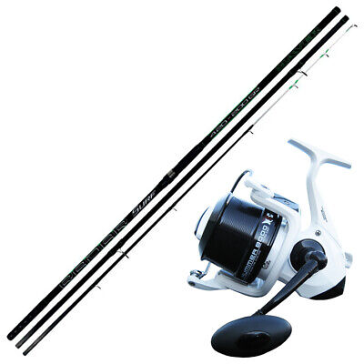 KP4230 Surfcasting Fishing Kit Rod Radar 420 150 Gr + Evo Hummer Reel • 110.42£