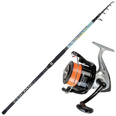 KP4349 Surfcasting Fishing Kit Shapt Rod 420 Trabucco Dayton 8000 Reel • 72.17£