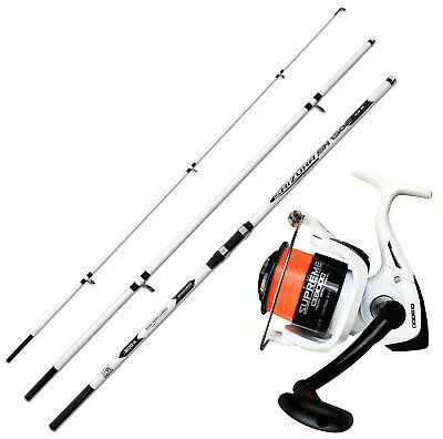 KP4332 Surfcasting Fishing Kit Rod SH1300 Reel Evo Supreme CX 8000 • 59.42£