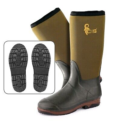 Hunting Neoprene Wellington Muck Boots Hunting Voyager Forest Waterproof • 45.97£