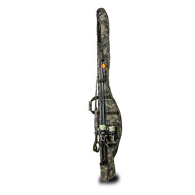 Solar Undercover Camo 3+2 Rod Holdall *All Lengths* NEW Fishing Luggage  • 54.99£