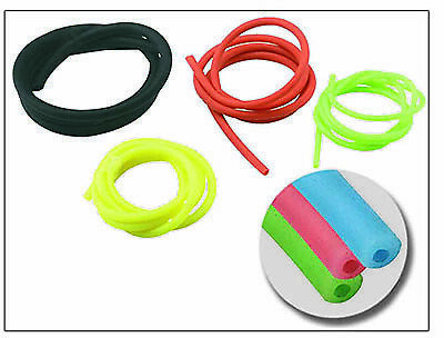 Catapult Spare Elastic 1m Length Quality Replacement Hollow Tube Choice Of Sizes • 4.99£
