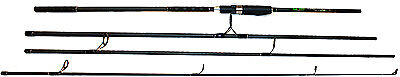 Q-Dos 11ft 2.75lbs Travel Carp Rod • 19.99£