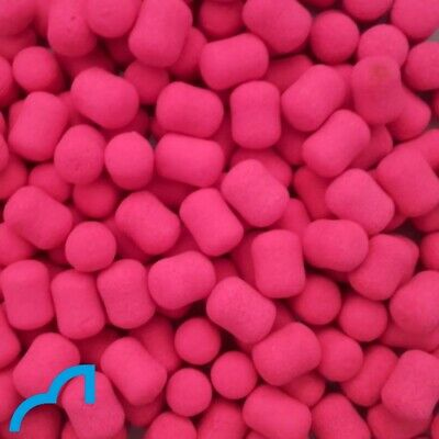 Spotted Fin - 12 & 15mm BRIGHT BERRY Wafters Pack | Carp Fishing Bait Boilies • 3.95£