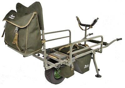 Carp Porter MK2 Fat Boy Deluxe Barrow - + FREE COVER (Direct From Manufacturer) • 209.99£