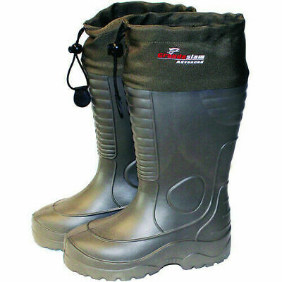 EVA Thermal Boots Sizes 7-8 9-10 10-11 Lightweight Draw Tops • 14.99£