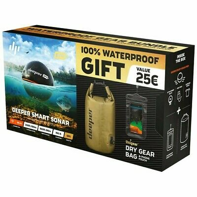 Deeper Smart Sonar Pro Plus + Wi-fi GPS Echo Sounder(and More Extra Fishing Kit) • 199£