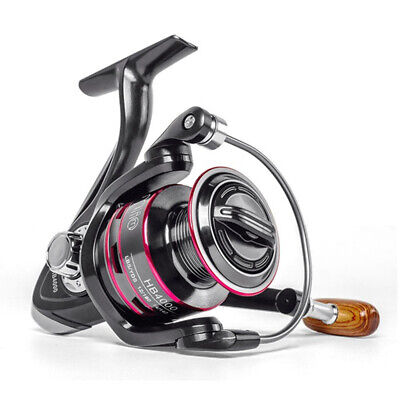Spinning Fishing Reel Bait Feeder Saltwater Freshwater Left/Right Hand 6000 CW • 11.99£