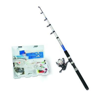 Zebco Sea Fishing Combo Rod Complete Set And Complete Rod Angeling 1545024 • 71.99£