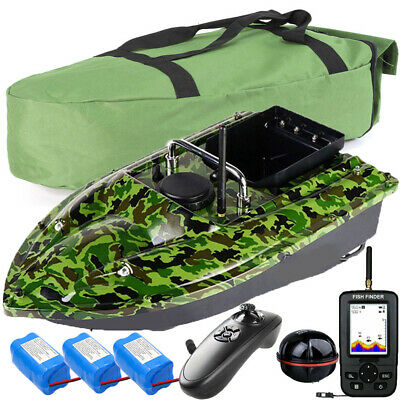 500M RC Wireless Fishing Bait Boat Carp Fishing Boat With Hangbag Spare Battery • 119.99£