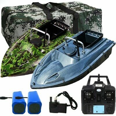 500M RC Carp Fishing Bait Boat GPS Position Hook Post + Bag & 2 Batteries Angle • 169.99£