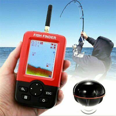 100M Wireless Smart Fish Finder Rechargeable Sonar Sensor Dot Angling Tool • 49.99£