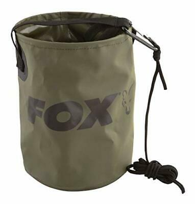 Fox Carp Fishing NEW Collapsible Water Bucket Including Drop Cord And Clip • 12.98£