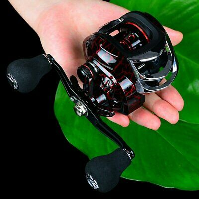 7.2:1 18+1BB 10KG Metal Baitcasting Reel Magnetic Brake CNC Spool Left &Right • 15.89£