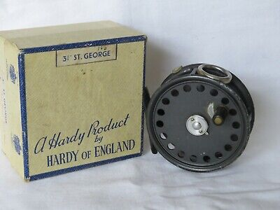Hardy St George 3 3/8  Reel Right Hand Wind And In Its Box • 228£